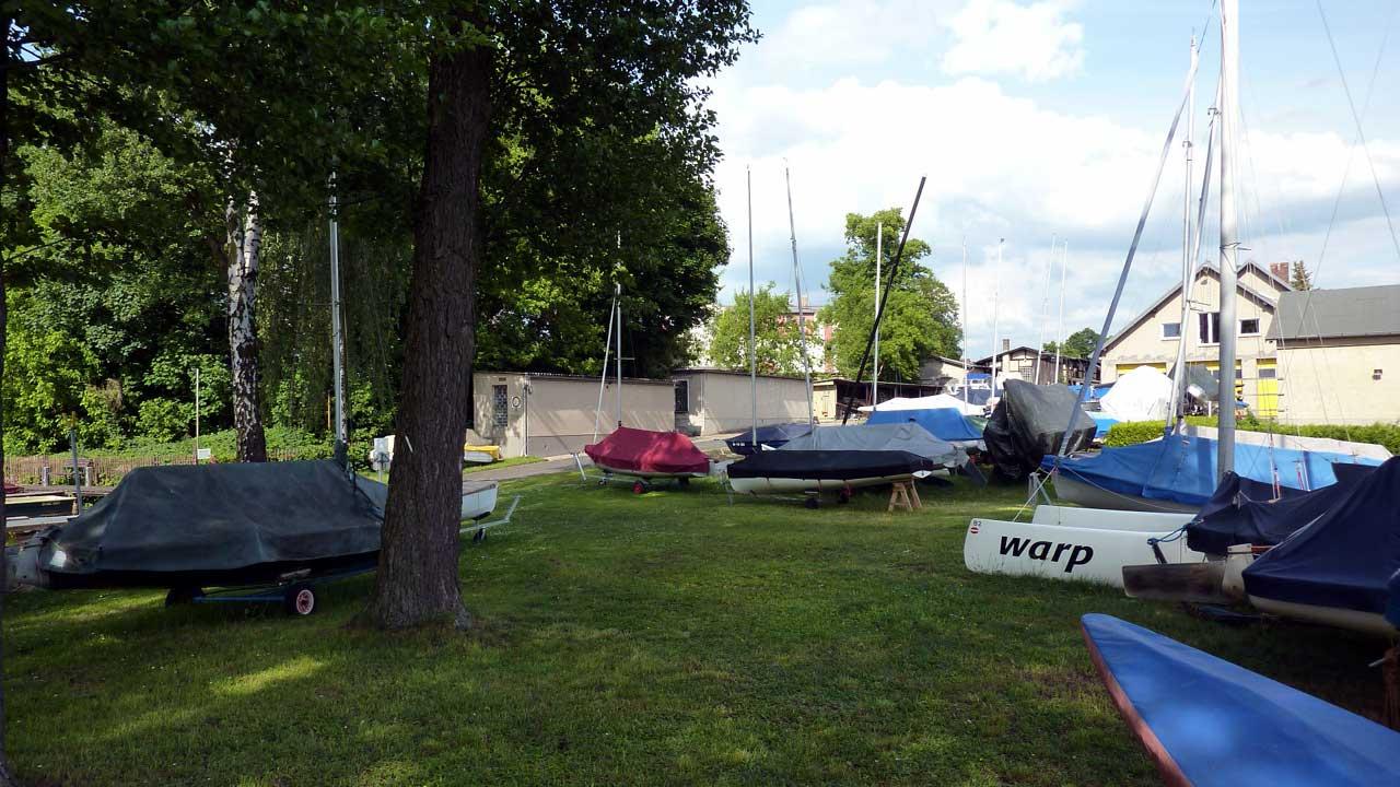 Bootshaus Rietz Gelände